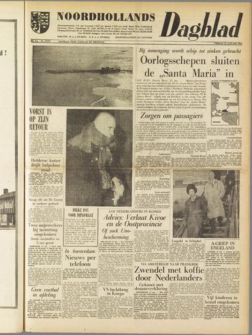 Noordhollands Dagblad : dagblad voor Alkmaar en omgeving 1961-01-27