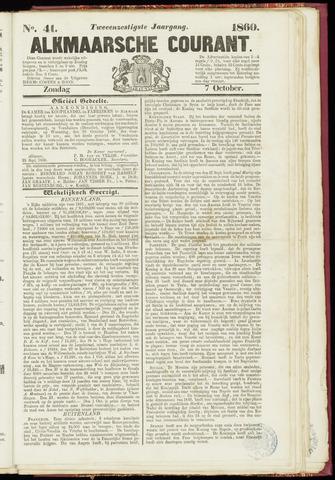 Alkmaarsche Courant 1860-10-07