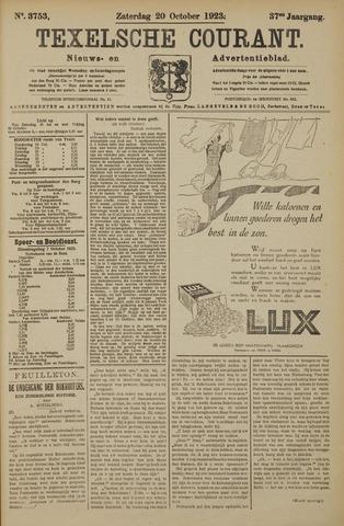 Texelsche Courant 1923-10-20