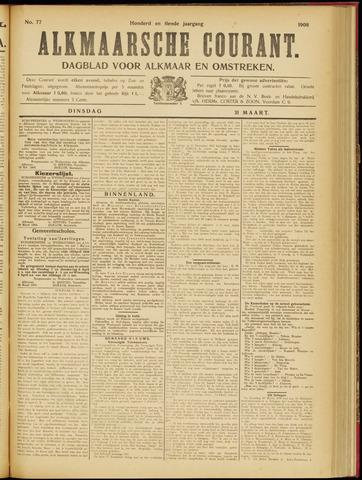 Alkmaarsche Courant 1908-03-31