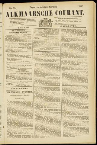 Alkmaarsche Courant 1887-08-12