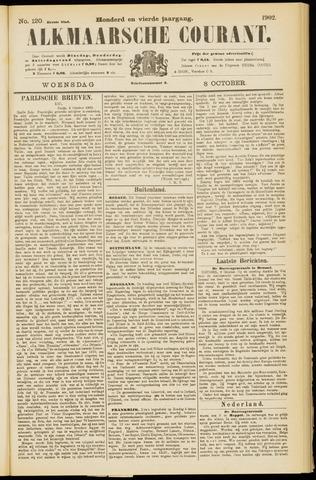 Alkmaarsche Courant 1902-10-08