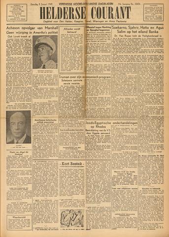 Heldersche Courant 1949-01-08