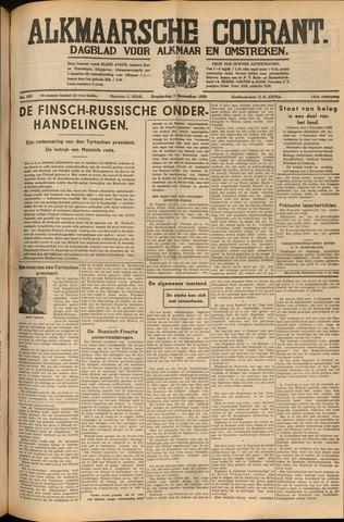 Alkmaarsche Courant 1939-11-02