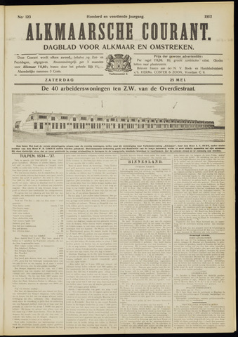 Alkmaarsche Courant 1912-05-25