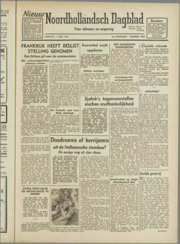 Nieuw Noordhollandsch Dagblad : voor Alkmaar en omgeving 1946-06-04