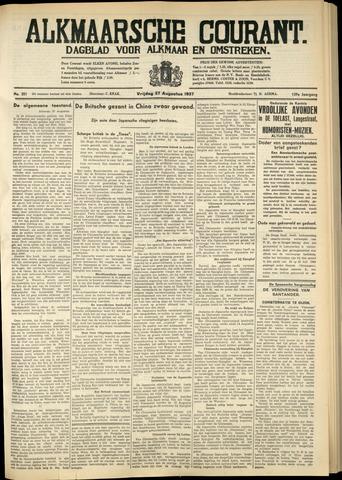 Alkmaarsche Courant 1937-08-27