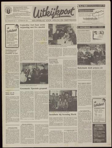 Uitkijkpost : nieuwsblad voor Heiloo e.o. 1991-02-20