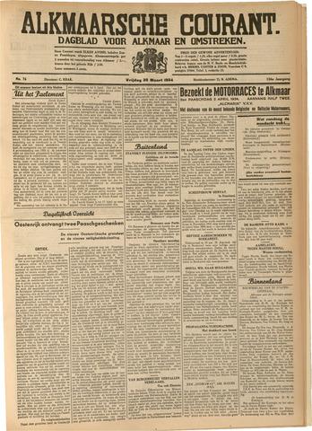 Alkmaarsche Courant 1934-03-30
