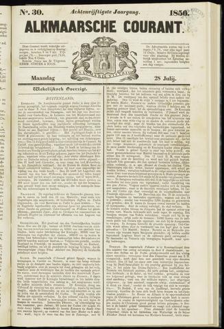 Alkmaarsche Courant 1856-07-28