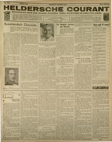 Heldersche Courant 1935-08-27