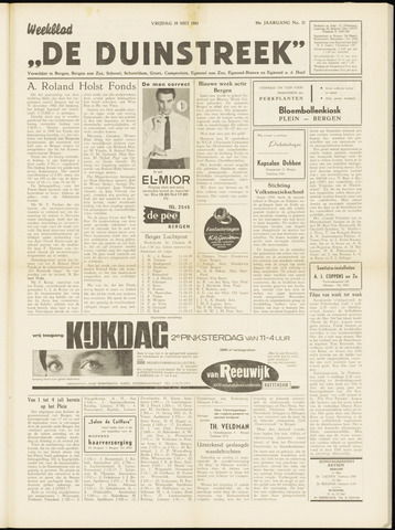 De Duinstreek 1961-05-19