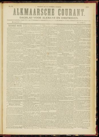 Alkmaarsche Courant 1919-04-14