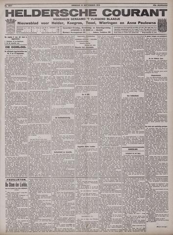 Heldersche Courant 1915-09-14