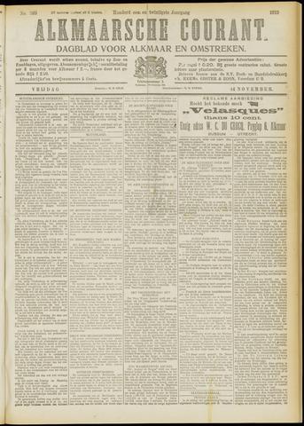 Alkmaarsche Courant 1919-11-14