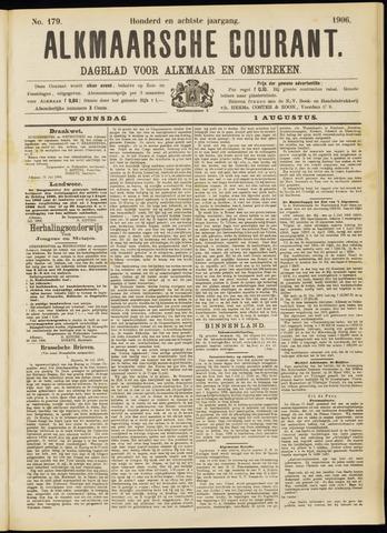 Alkmaarsche Courant 1906-08-01