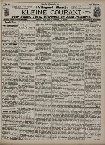 Vliegend blaadje : nieuws- en advertentiebode voor Den Helder 1910-09-03