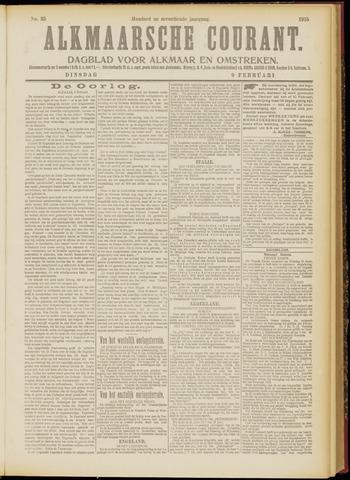 Alkmaarsche Courant 1915-02-09