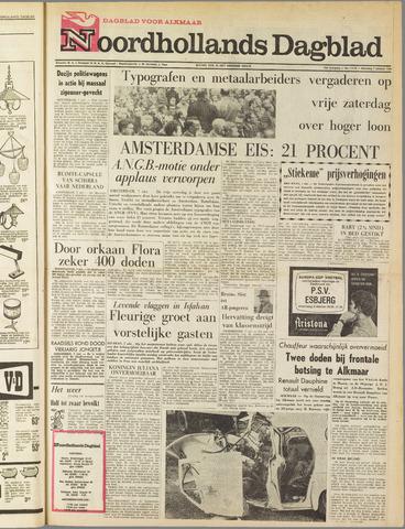 Noordhollands Dagblad : dagblad voor Alkmaar en omgeving 1963-10-07