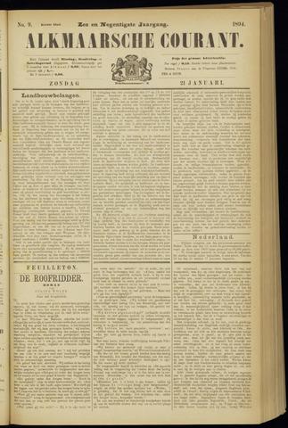 Alkmaarsche Courant 1894-01-21