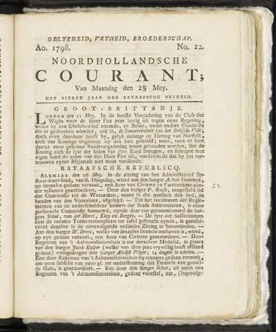 Noordhollandsche Courant 1798-05-28