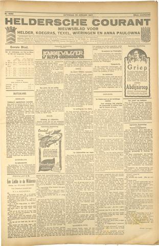 Heldersche Courant 1927-01-29