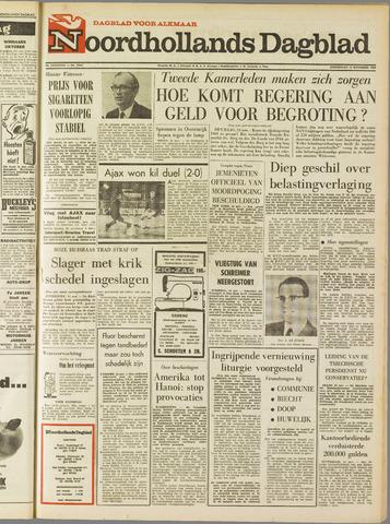 Noordhollands Dagblad : dagblad voor Alkmaar en omgeving 1968-11-14