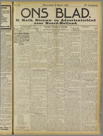 Ons Blad : katholiek nieuwsblad voor N-H 1912-03-06