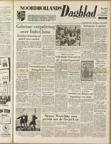 Noordhollands Dagblad : dagblad voor Alkmaar en omgeving 1954-05-25