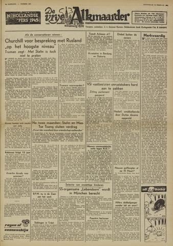 De Vrije Alkmaarder 1950-02-16