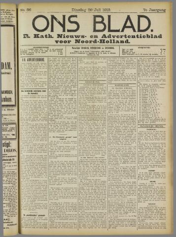 Ons Blad : katholiek nieuwsblad voor N-H 1913-07-29