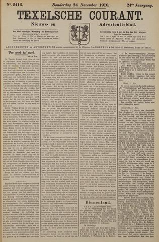 Texelsche Courant 1910-11-24