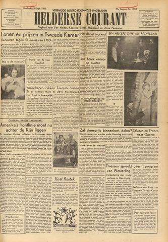Heldersche Courant 1950-09-28