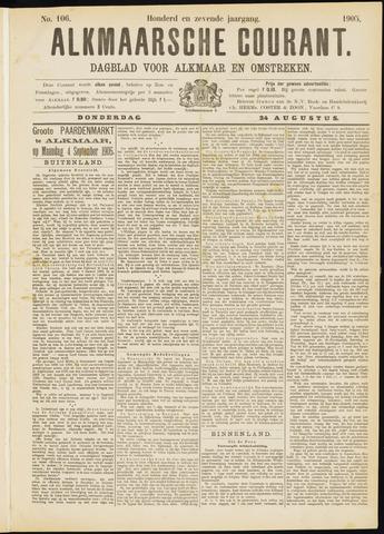 Alkmaarsche Courant 1905-08-24