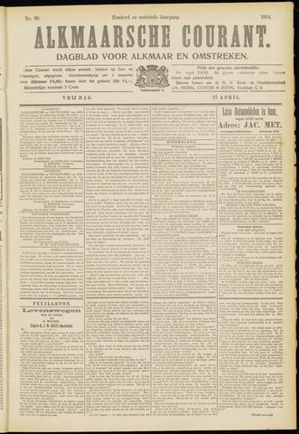 Alkmaarsche Courant 1914-04-17