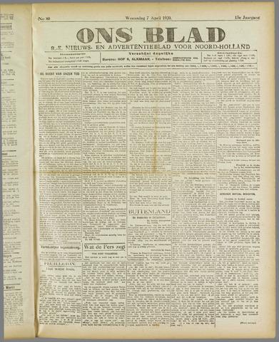 Ons Blad : katholiek nieuwsblad voor N-H 1920-04-07