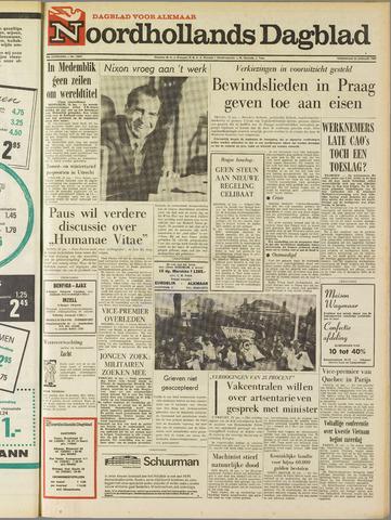 Noordhollands Dagblad : dagblad voor Alkmaar en omgeving 1969-01-22