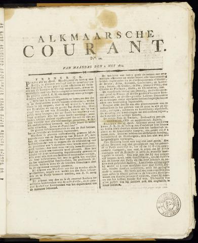 Alkmaarsche Courant 1814-05-02