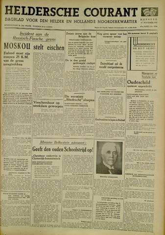 Heldersche Courant 1939-11-27