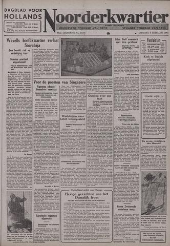 Dagblad voor Hollands Noorderkwartier 1942-02-03