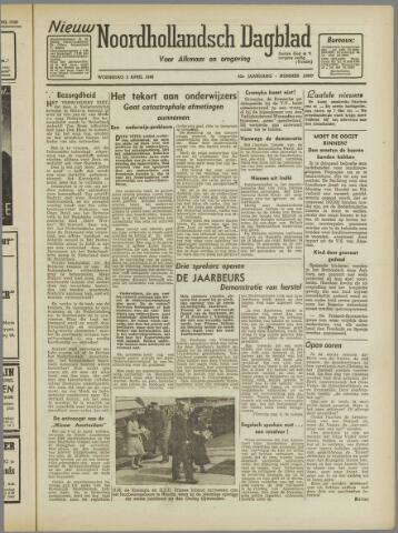Nieuw Noordhollandsch Dagblad : voor Alkmaar en omgeving 1946-04-04