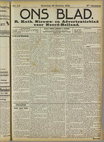 Ons Blad : katholiek nieuwsblad voor N-H 1912-10-26
