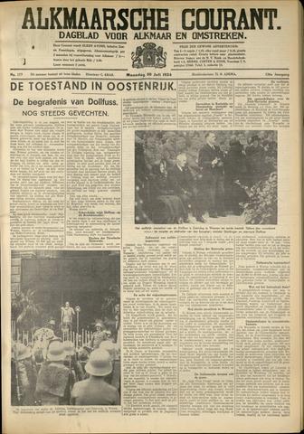 Alkmaarsche Courant 1934-07-30
