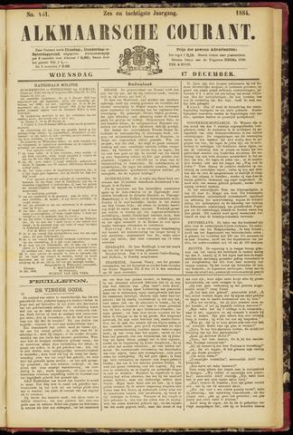 Alkmaarsche Courant 1884-12-17