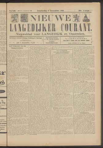 Nieuwe Langedijker Courant 1923-12-06