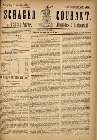 Schager Courant 1888-10-11