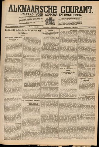Alkmaarsche Courant 1939-03-09