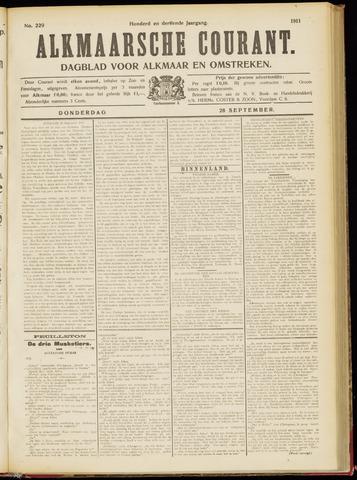 Alkmaarsche Courant 1911-09-28