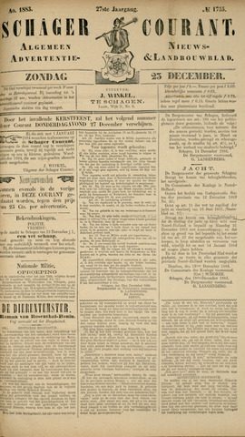 Schager Courant 1883-12-23