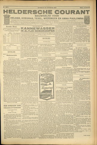 Heldersche Courant 1927-08-20